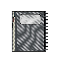 closed notebook icon image vector image vector image