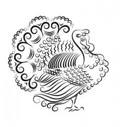 Turkey illustration vector