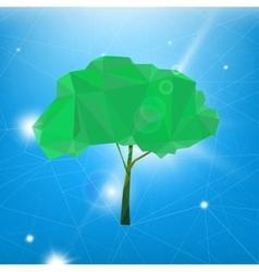 02 polygonal tree vector