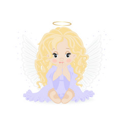 Little angel vector