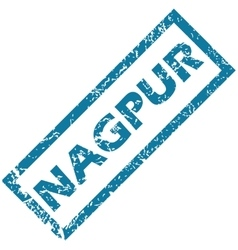 Nagpur rubber stamp vector