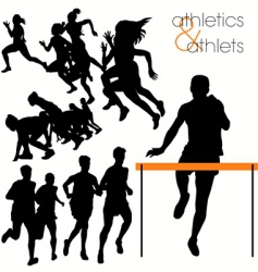 Athletics vector