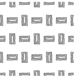 Abstract geometric rectangle line shapes seamless vector