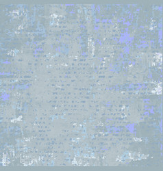 Grey blue grunge background vector