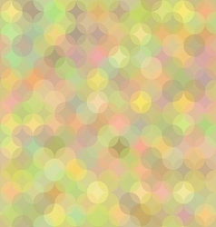 Pastel geometric background in shades of rainbow vector