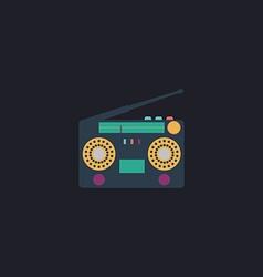 boombox computer symbol vector image