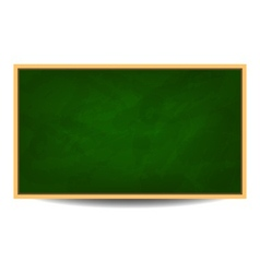 Green chalkboard background eps 10 vector