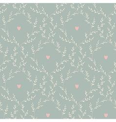 Spring pattern vintage vector