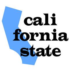 california state original quote vector image