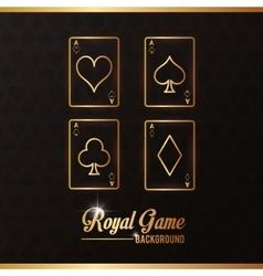 Casino las vegas game icon vector