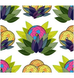 exotic background vector image vector image