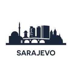 Sarajevo Emblem vector image vector image