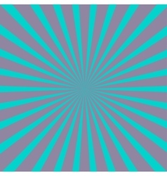 Violet and blue sunburst with ray of light vector image vector image