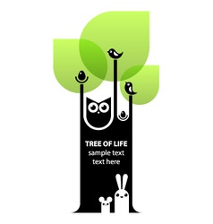 Tree of life concept vector