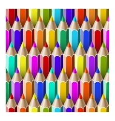 Seamless pattern pencils vector