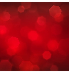 Abstract blurred square red boke background vector