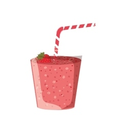 Smoothie healthy drink vector