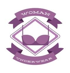 women underwear design vector image
