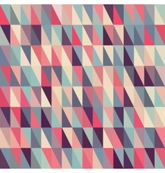 Seamless multicolor triangle grid in shades vector