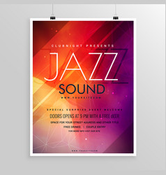 Music sound party flyer invitation template vector