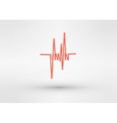 icon of equalizer vector image vector image
