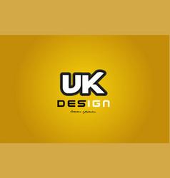 vk v k alphabet letter combination digit white on vector image vector image