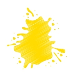 Splash liquid isolated icon vector