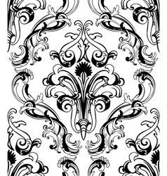 damas pattern vector image