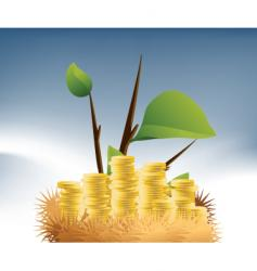 money nest vector image