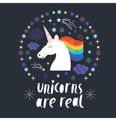 Unicorn are real vector