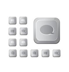 computer key set vector image vector image