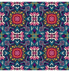 Festive colorful ethnic seamless pattern vector