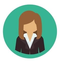 Isolated avatar woman design vector