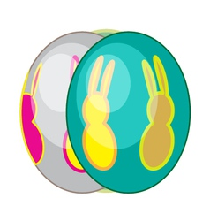Egg bunn06 vector