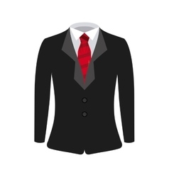 man suit design vector image