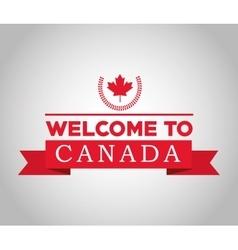 Canadas county design maple leaf icon vector