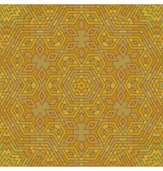 Ornamental orange brick background vector