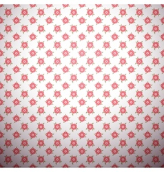 Abstract flower pattern wallpaper with polka dot vector
