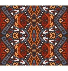 Abstract mosaic vintage ethnic seamless pattern vector