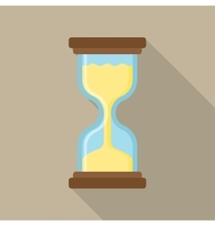 flat icon of hourglasses vector image