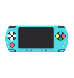 game console video gaming icon controller vector image