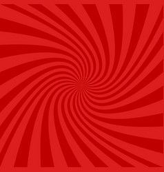 Red spiral background - graphic vector