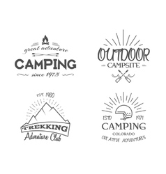 Retro badges and label logo graphics collection vector image vector image