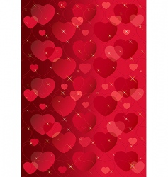 valentine background mini vector image vector image