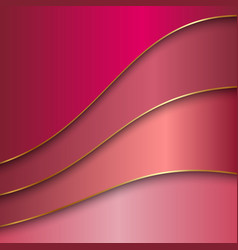 Abstract metal color background with curves and vector