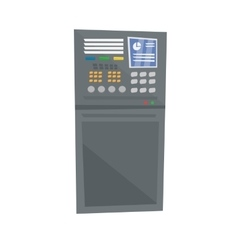 Industrial control panel vector image