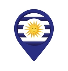 Argentina emblem isolated icon vector