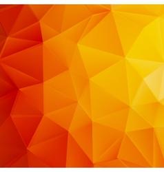 Autumn sun triangle template plus eps10 vector