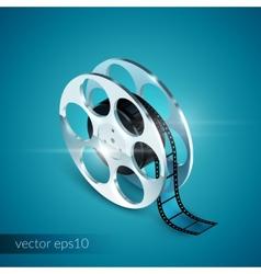 Film Reel Realistic vector image