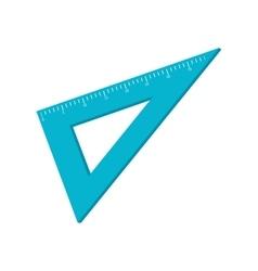 Rule triangle instrument school vector
